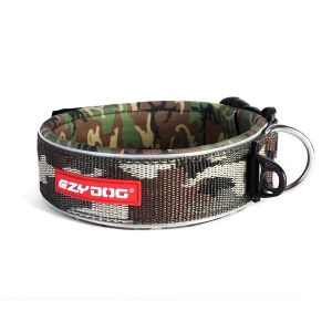 EzyDog obroża Neo Classic WIDE Large (46-53cm/46mm) - green camo
