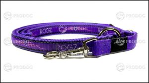 Rogz smycz regulowana HLM 03 BJ - Purple Chrome