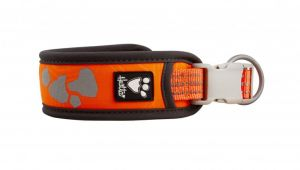 Hurtta obroża WEEKEND WARRIOR Neon Orange