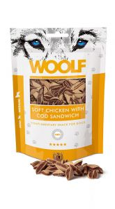 WOOLF Soft Chicken COD Sandwitch (Kurczak i Dorsz) 100g