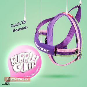 EzyDog szelki Quick Fit Large - bubble gum