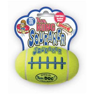 Kong Air Squeaker FootBall Medium - średnia (12cm)